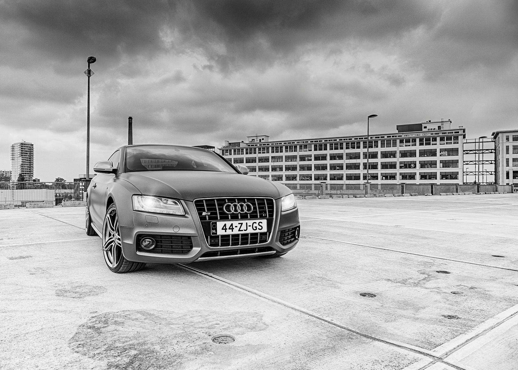 Audi S5 shoot