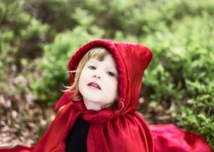 Roodkapje in het klein