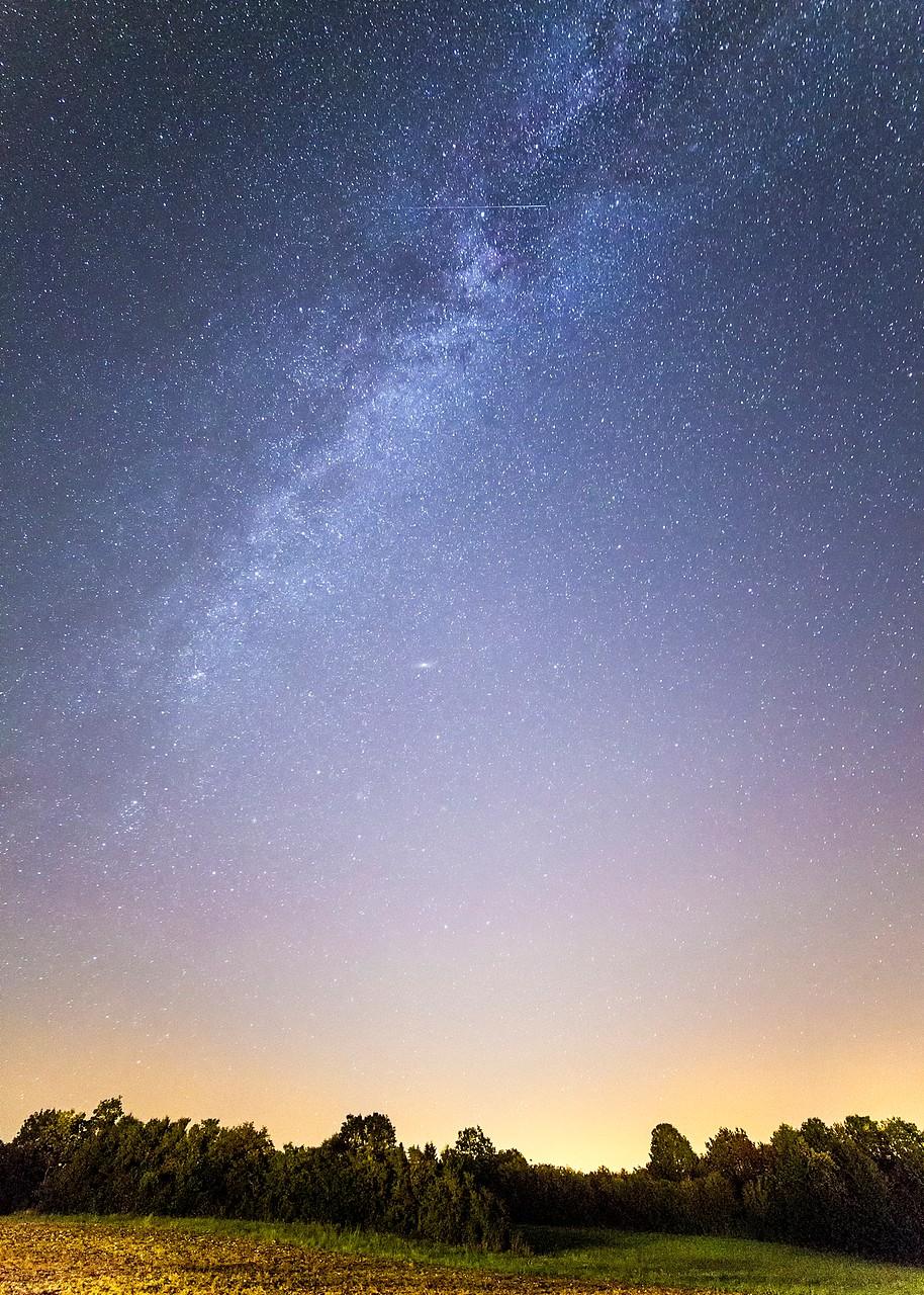 Melkweg in Duitsland
