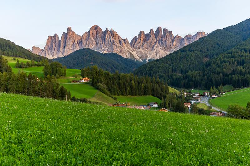 Roadtrip Italie: Val di Funes